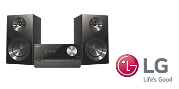 LG CM 2460 bluetooth micro hifi