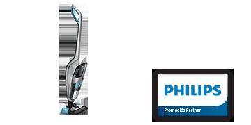 Philips PowerPro Aqua vezeték nélküli porszívó
