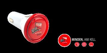 MinDigTV Extra Logózott USB töltő