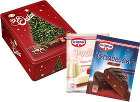 Dr. Oetker karácsonyi csomag díszdobozban